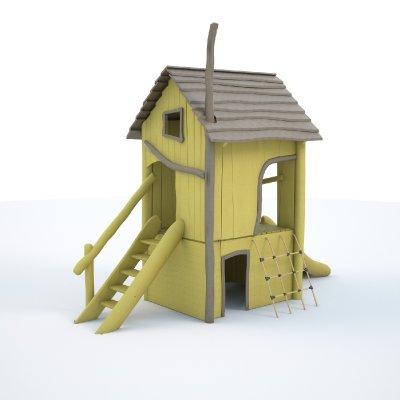 Akátový dětský domeček