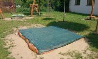 Pískoviště - krycí plachta