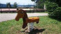 Pružinové houpadlo - kůň