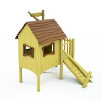 Domeček na dětské hřiště