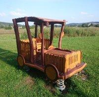 Auto dřevěné