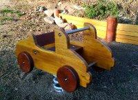 Pružinové houpadlo - auto