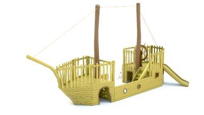 Velká lod z akátu